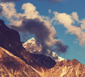 Skhara peaks — Stock Photo