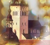 Architecture of Tallinn — Stock Photo