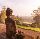 Borobudur Temple,Java, Indonesia. — Stock Photo