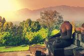 храм боробудур — Стоковое фото