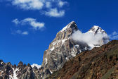 Ushba peak — Stock Photo