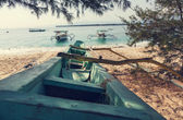 Boats in Indonesia — Stock Photo