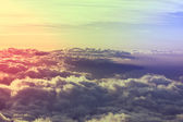 Above clouds — Stock Photo