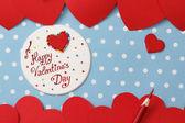Valentine's day love message — Foto de Stock