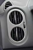 Car air conditioner ventilation. — Stock Photo