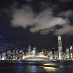 Hong Kong skyline. — Stock Photo