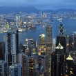 Hong Kong skyline. — Stock Photo