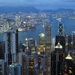 Stock Photo: Hong Kong skyline.