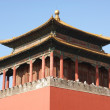 Details, Eaves and Roofs of Hall of Supreme Harmony in the Forbidden City - Beijing, China — Stock Photo