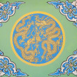 Ancient chinese traditional dragon pattern — ストック写真