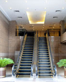 Two escalator — Stock Photo