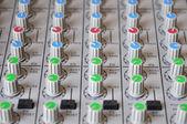 录音混音器 — 图库照片