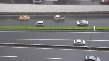 汽车在公路上 — 图库视频影像