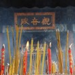 Stock Photo: Incense Sticks Burning in Chinese Temple