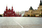 National Historic Museum at Red Square in Moscow, Russia — Stock Photo