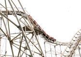 Roller Coaster Track — Stock Photo