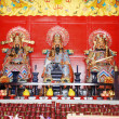 Stock Photo: Tradition statues in Chinese temple