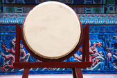 A big chinese drum. — Stock Photo