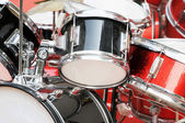 Red drums — Stock Photo