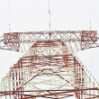 Iron electric pylon — Stock Photo