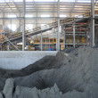The copper ore metal production plant — Stock Photo
