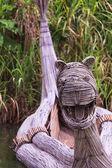 Dragon boat — Stockfoto