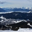 Stock Photo: Panorama of the Alps