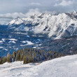 Panorama of the Alps - Stock Photo