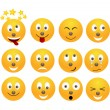 Set of emoticons. - Stock Vector