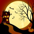 Witch house - Stock Vector