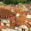 Red roofs of Prague, Czech Republic — Foto Stock