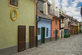 Golden Street. Prague. — Stock fotografie
