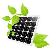 Solar cell — Stock Vector