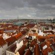 Stock Photo: Rooftops of Prague