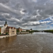 Prague. Vltava — Stock Photo