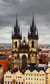 Church of Our Lady before Tyn — Stock Photo