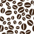 Coffee beans pattern — Stock Vector #32030089