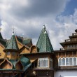 Wooden palace of tsar Aleksey Mikhailovich — Stock Photo #33252835