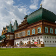 Stock Photo: Wooden palace of tsar Aleksey Mikhailovich