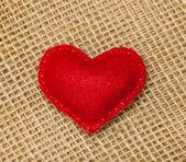 чувствовал сердце — Стоковое фото
