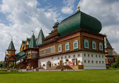 Wooden palace of tsar Aleksey Mikhailovich — Stock Photo