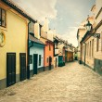 Golden Street. Prague. — Stock Photo #49025817
