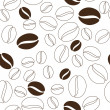 Coffee beans pattern — Stock Vector #50428897