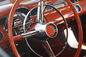 Detail of retro car — Stock Photo