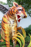 Sculpture of a tiger — Stock Photo