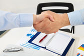 Agreement in the office — Stock Photo