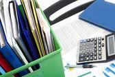 коробки с документами — Стоковое фото