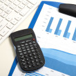 Stockfoto: Calculator in office