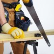 Stock Photo: Mature Contractor. carpenter