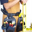 Mature Contractor. carpenter — Stock Photo #27132191
